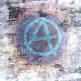 Símbolo de la pintada Fotografía de archivo