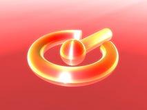 Símbolo de la potencia Fotos de archivo