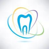 Símbolo de la protección del diente Fotografía de archivo libre de regalías