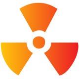 Símbolo de la radiación Foto de archivo