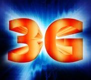 símbolo de la red 3G stock de ilustración