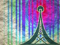 Símbolo de la red inalámbrica de los Wi Fi Foto de archivo libre de regalías