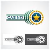 Símbolo de la ruleta del casino Foto de archivo libre de regalías