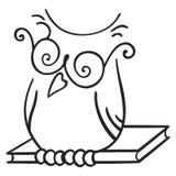 Símbolo de la sabiduría Fotos de archivo libres de regalías