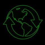 Símbolo de la tierra Fotos de archivo