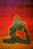 Símbolo de la yoga Foto de archivo libre de regalías