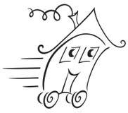 Símbolo de las propiedades inmobiliarias libre illustration