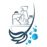 Símbolo de limpeza e de lavagem Imagem de Stock