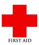Símbolo de los primeros auxilios Imagen de archivo