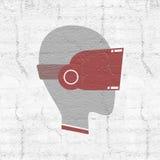 Símbolo de los vidrios de la realidad virtual Fotos de archivo libres de regalías