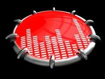 Símbolo de música Fotografia de Stock