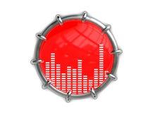 Símbolo de música Imagem de Stock Royalty Free