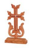 Símbolo de madeira da igreja armênia Foto de Stock Royalty Free