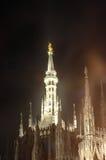 Símbolo de Milão, italy Imagens de Stock Royalty Free
