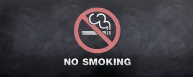 Símbolo de no fumadores de la muestra Foto de archivo libre de regalías