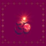 Símbolo de OM Fotos de archivo libres de regalías