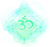 Símbolo de OM Aum Imágenes de archivo libres de regalías