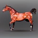 Símbolo de papel de un caballo corriente. Ejemplo del vector Fotografía de archivo libre de regalías