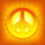 Símbolo de paz Imagen de archivo