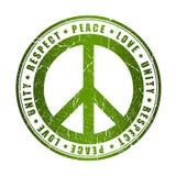 Símbolo de paz Imagenes de archivo