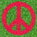 Símbolo de paz Fotos de archivo