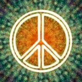 Símbolo de paz Imagen de archivo libre de regalías