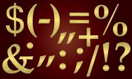Símbolo de puntuación. Foto de archivo