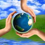 Símbolo de recicl conceptual Foto de Stock