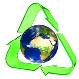 Símbolo de recicl conceptual Imagem de Stock