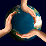 Símbolo de reciclaje conceptual Fotografía de archivo libre de regalías