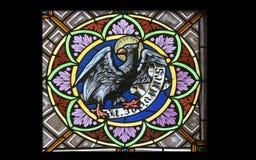 Símbolo de San Juan Evangelista Fotos de archivo libres de regalías