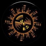 Símbolo de Sci Fi fotografía de archivo libre de regalías