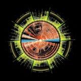 Símbolo de Sci Fi imagen de archivo