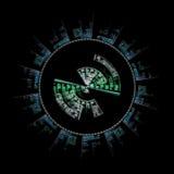 Símbolo de Sci Fi Imagens de Stock