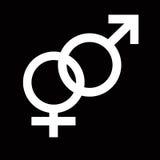 Símbolo de sexo Imagenes de archivo
