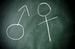 Símbolo de sexo Imagen de archivo