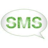 Símbolo de SMS Imágenes de archivo libres de regalías