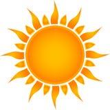 Símbolo de Sun. Foto de Stock