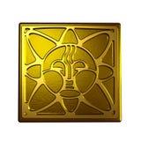 Símbolo de Sun Fotos de archivo libres de regalías