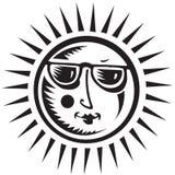 Símbolo de Sun ilustração stock