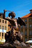 Símbolo de Varsóvia fotografia de stock
