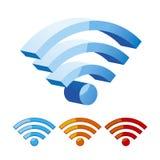 Símbolo de Wifi Fotografía de archivo