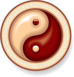 Símbolo de Yin Yang libre illustration