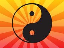 Símbolo de Yin Yang Imagen de archivo libre de regalías