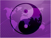 Símbolo de Yin Yang Fotos de archivo libres de regalías