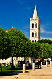 Símbolo de Zadar Fotografia de Stock
