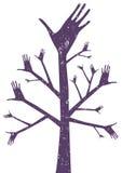 Símbolo del árbol ilustración del vector