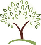 Símbolo del árbol Fotografía de archivo