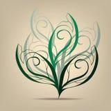 Símbolo del árbol de hoja caduca. Ejemplo del vector Fotos de archivo libres de regalías