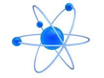 Símbolo del átomo Fotografía de archivo libre de regalías